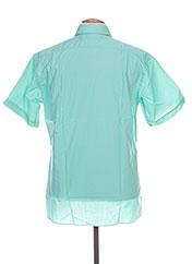 Chemise manches courtes vert PIERRE CARDIN pour homme seconde vue