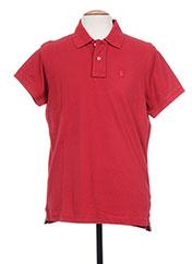 Polo manches courtes rouge TPTK pour homme seconde vue