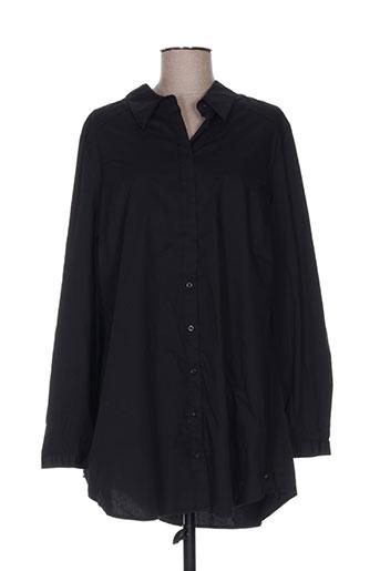 no secret chemises femme de couleur noir