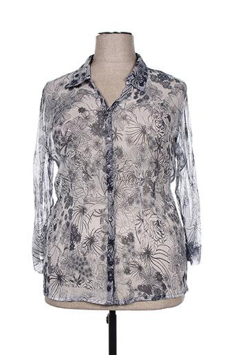 agathe EFFI_CHAR_1 louise chemises femme de couleur gris