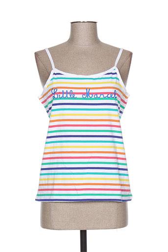 little marcel chemises femme de couleur blanc