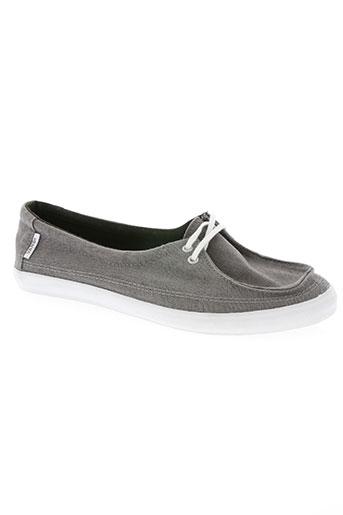 vans chaussures femme de couleur gris
