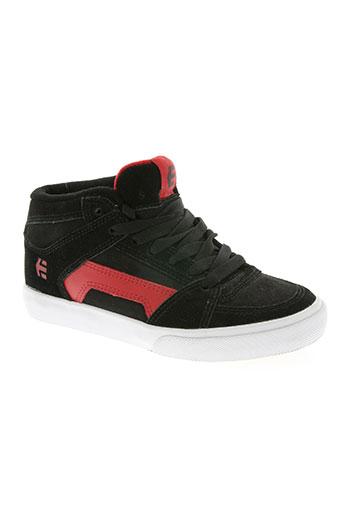 etnies chaussures garçon de couleur rouge