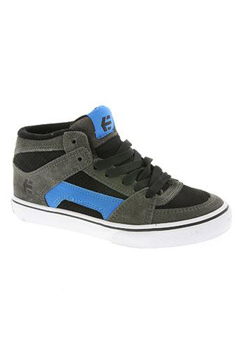 etnies chaussures garçon de couleur bleu