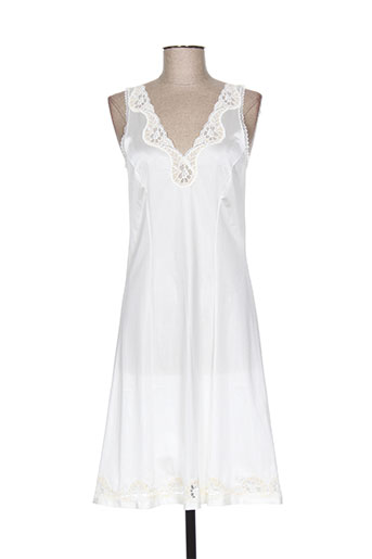 lingerie elizabeth jupes femme de couleur blanc