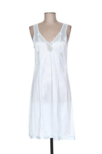 lingerie elizabeth jupes femme de couleur bleu