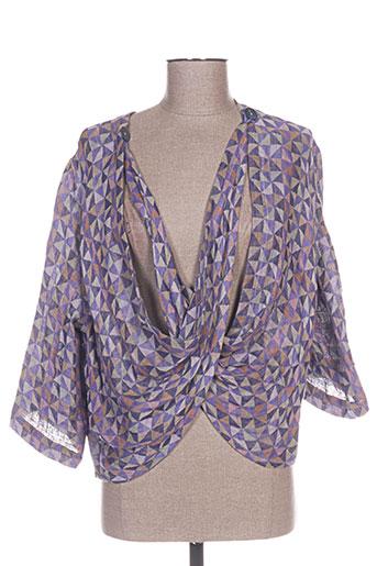 ralston vestes femme de couleur violet