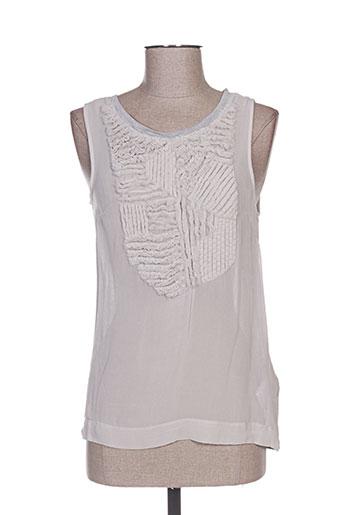 noa noa t-shirts femme de couleur gris
