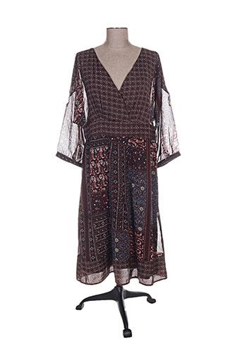 bohemia robes femme de couleur marron