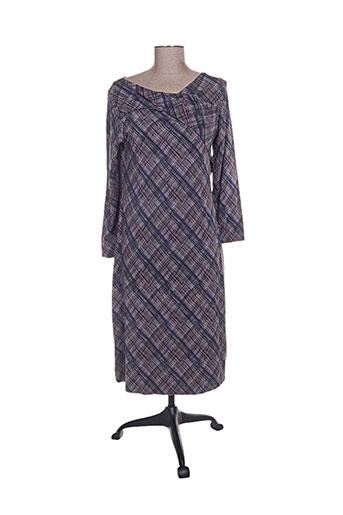 Robe mi-longue gris BOHEMIA pour femme