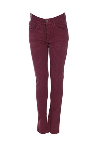 jack EFFI_CHAR_1 jones pantalons homme de couleur rouge
