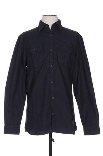 jack EFFI_CHAR_1 jones chemises homme de couleur noir
