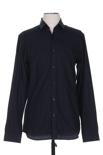premium chemises homme de couleur noir