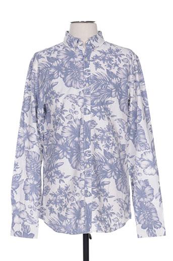 premium chemises homme de couleur bleu