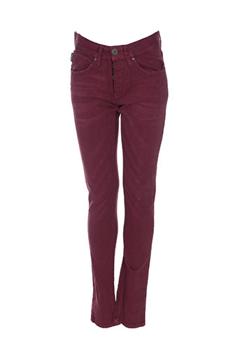 Pantalon casual rouge JACK & JONES pour homme