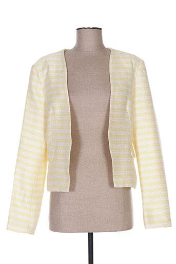 lucy EFFI_CHAR_1 co vestes femme de couleur jaune