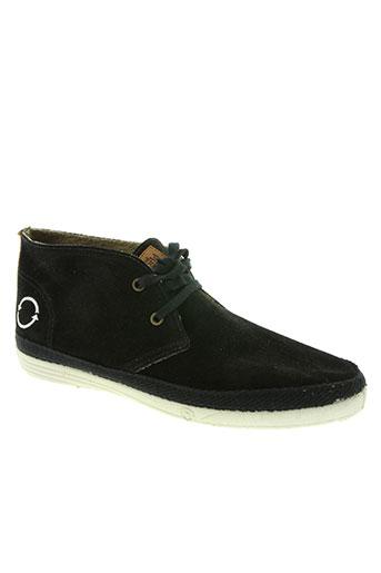 natural world chaussures homme de couleur noir