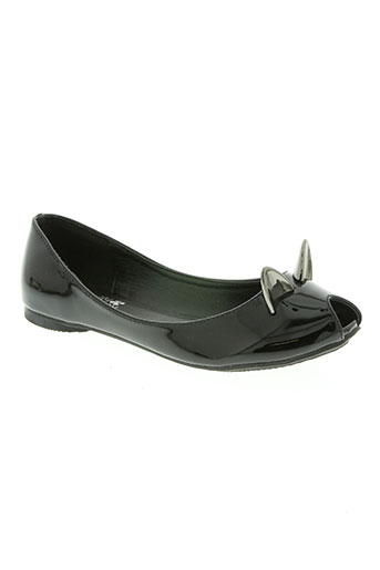 molly bracken chaussures femme de couleur noir