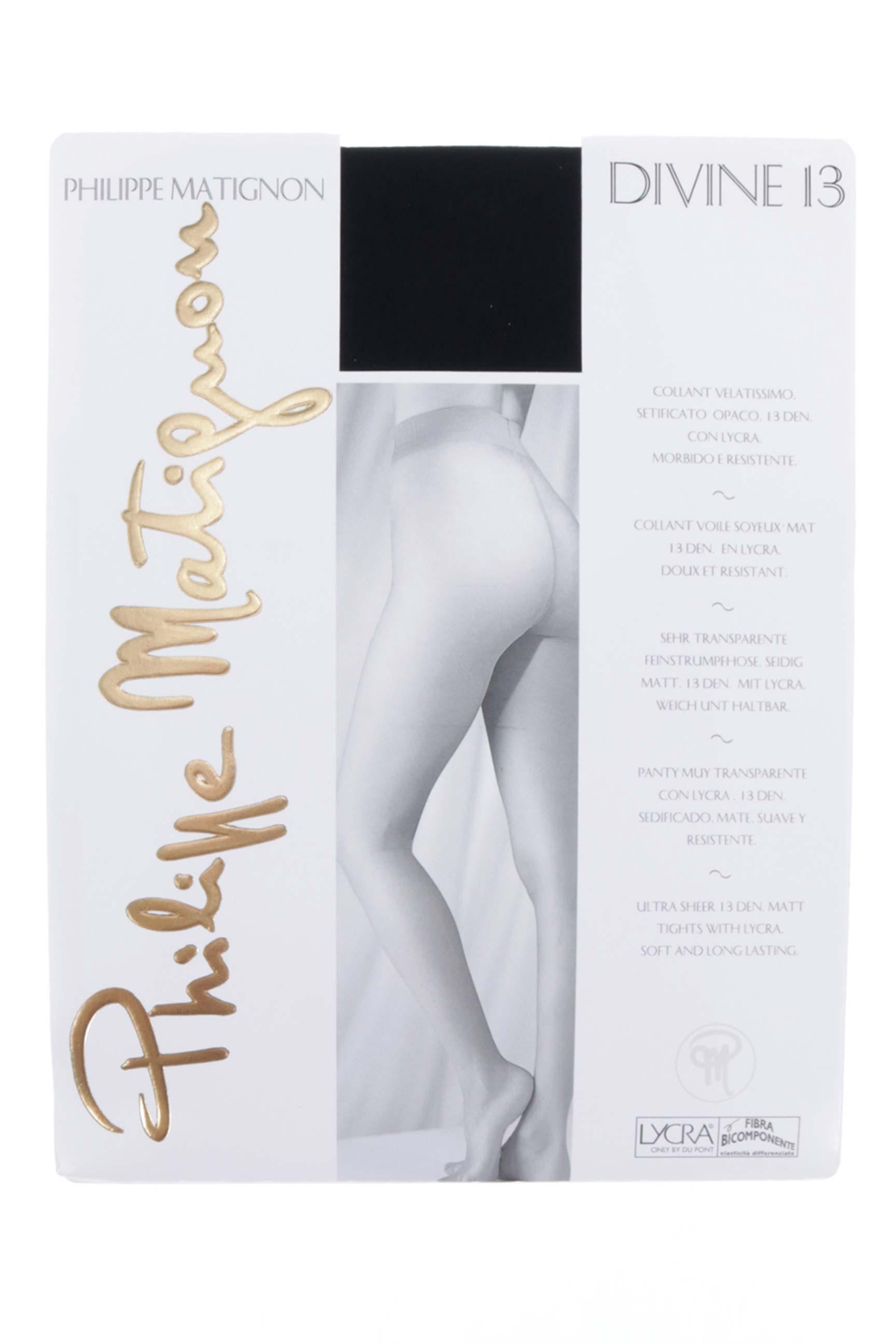Philippe Matignon Collant Femme De Couleur Noir En Soldes Pas Cher ... bf3c33dd74d