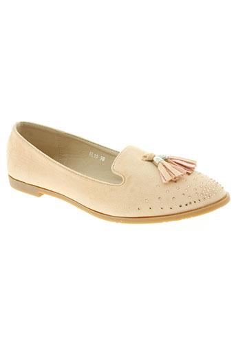 creamy moda chaussures femme de couleur rose