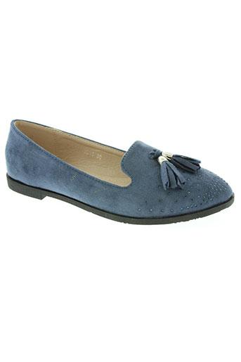 creamy moda chaussures femme de couleur bleu
