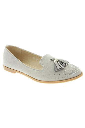 creamy moda chaussures femme de couleur gris