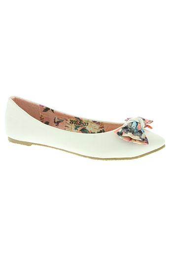 bruna rossi chaussures femme de couleur blanc