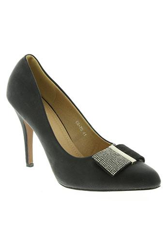 celifa chaussures femme de couleur noir