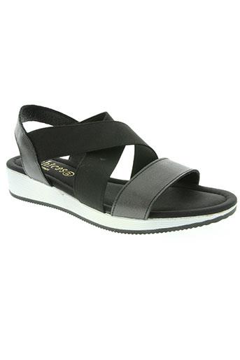 dchicas chaussures femme de couleur noir