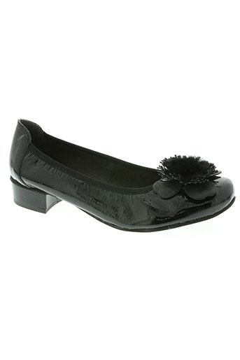 hirica chaussures femme de couleur noir