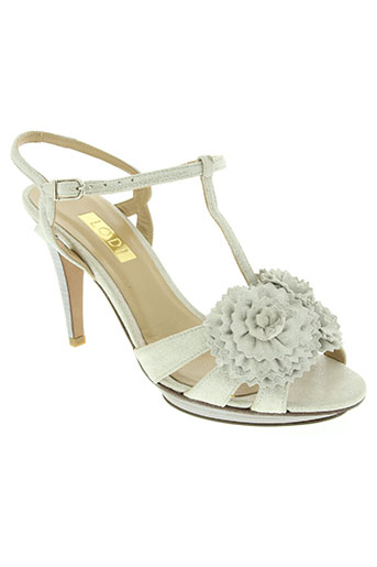lodi chaussures femme de couleur beige