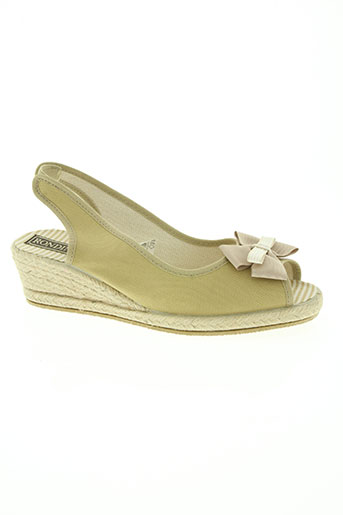 rondinaud chaussures femme de couleur beige