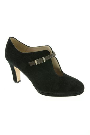 brenda zaro chaussures femme de couleur noir