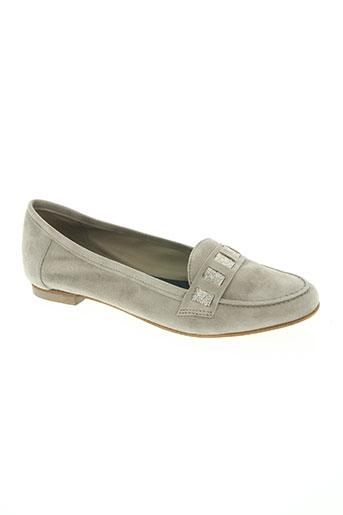 alain bastiani chaussures femme de couleur gris