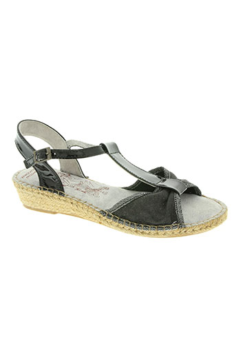 bruma chaussures femme de couleur noir
