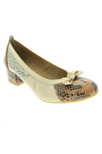 modabella chaussures femme de couleur beige