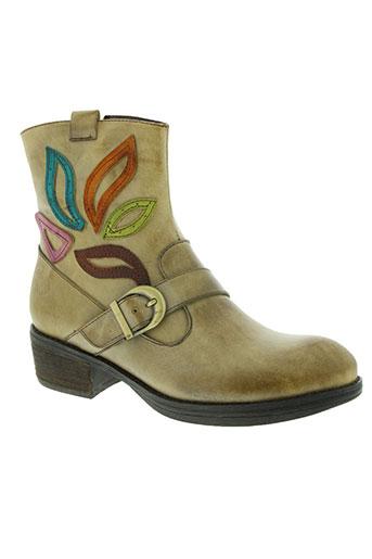 laura vita chaussures femme de couleur beige