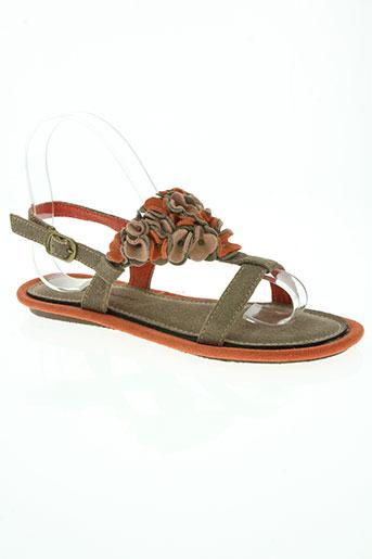 timezone chaussures femme de couleur marron
