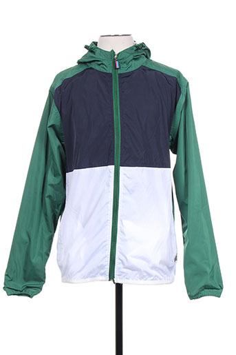 french kick manteaux homme de couleur vert