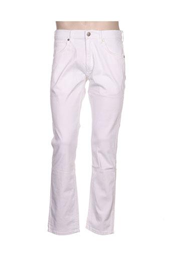 wrangler jeans homme de couleur blanc