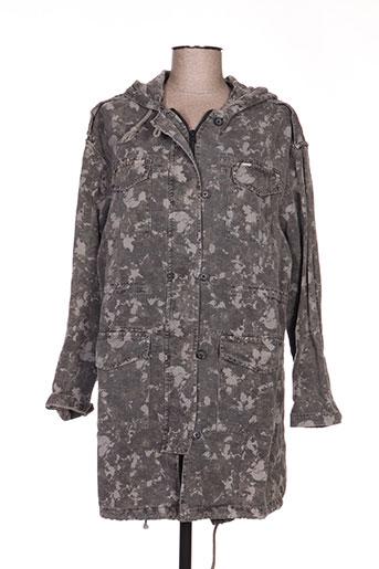 ltb manteaux femme de couleur gris