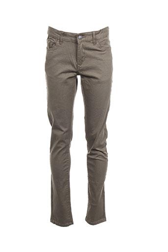 tiffosi pantalons garçon de couleur vert