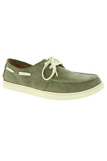 toms chaussures homme de couleur vert