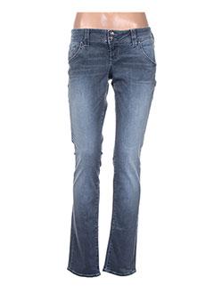 Jeans coupe slim bleu GUESS JEANS pour femme