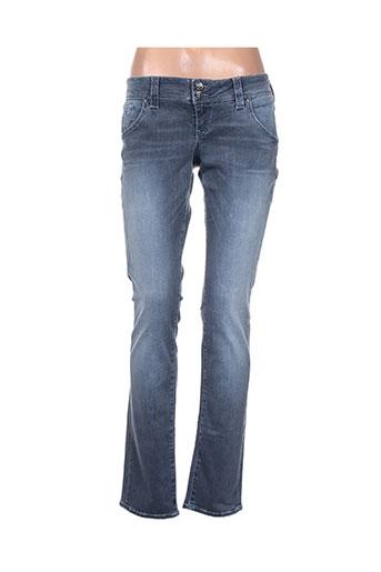 guess jeans jeans femme de couleur bleu
