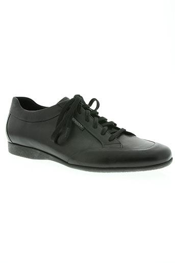 mephisto chaussures homme de couleur noir