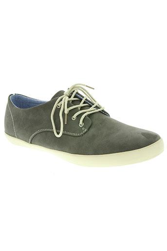 yimaida chaussures homme de couleur gris