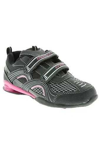 transat chaussures fille de couleur rose