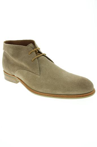 paradigma chaussures homme de couleur beige