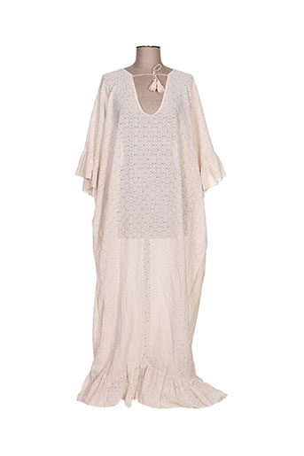 by amelie robes femme de couleur beige
